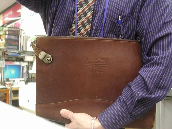 バーミンガムのバッグはビジネスバッグとしては非常に優秀