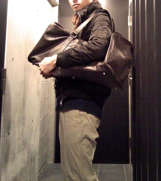 ドルチェ&ガッバーナ「ザ・ワン」のレザーボストンバッグ