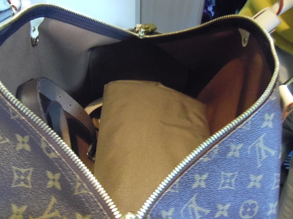 1週間の旅行バッグに最適な大きさ