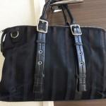 私が愛用するのは「キャサリンハムネットロンドン」のビジネスバッグ