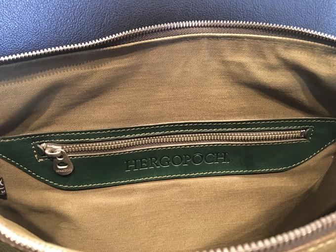 エルゴポックのビジネスバッグの使い心地