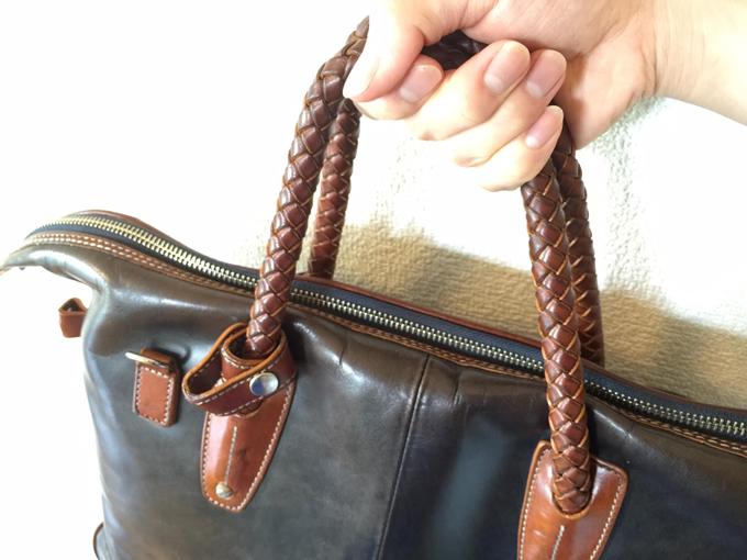 Kiefer neu(キーファーノイ)のバッグは編み込みの取っ手