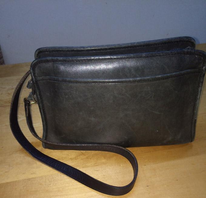 グローブレザー(カウハイド)を使ったCOACHのヴィンテージバッグ