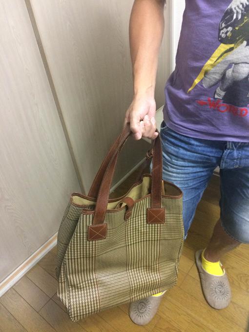 ラルフローレンのトートバッグ