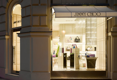 ジミーチュウの店舗