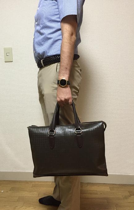ポールスチュアートのビジネスバッグ
