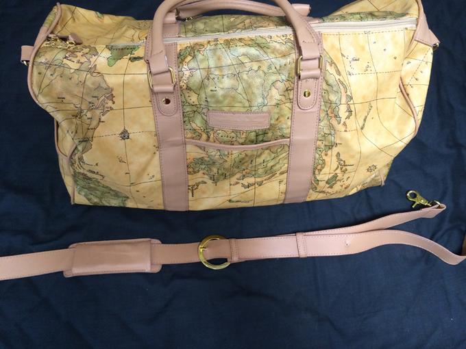 プリマクラッセの世界地図の柄が魅力的