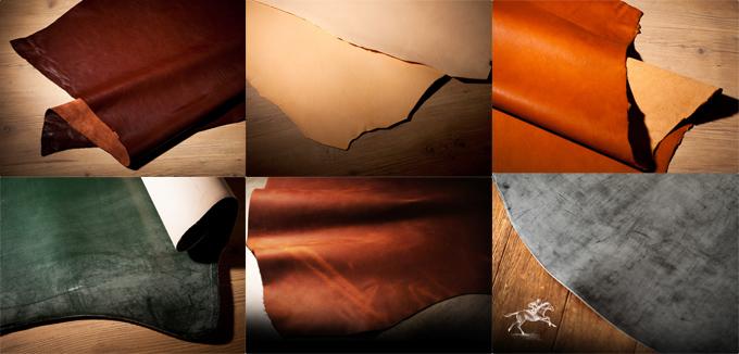 良質な革素材