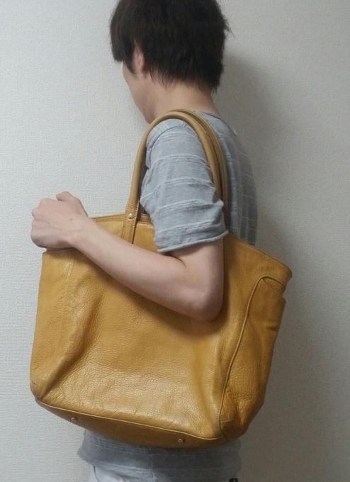 aniaryのトートバッグを3年間使った使用感