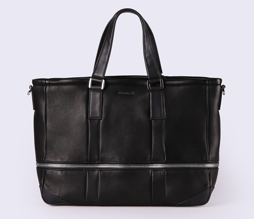 L-ZIPROUND TOTE バッグ