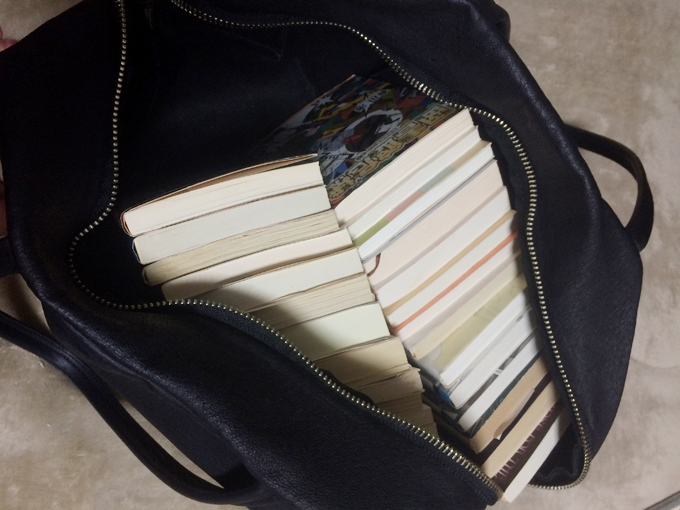 文庫本なら20冊は軽く入る