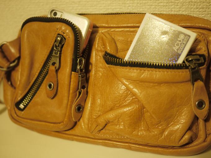 男性だったら外出するときは、「財布」「携帯」「タバコ等」くらいの持ち物