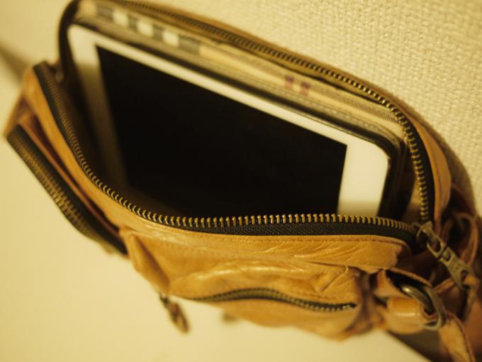 物が多い人には不向きなバッグ