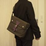 ポールスミスのカジュアルバッグの使い心地