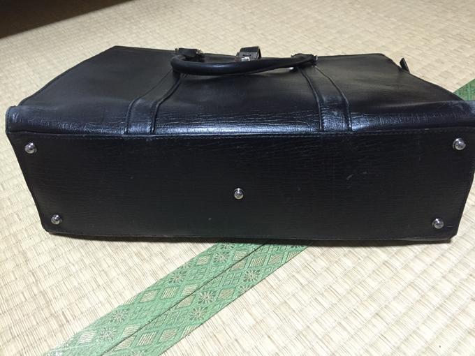 バッグは底にしっかりビョウ