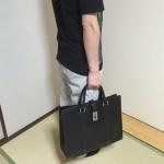 グッチのビジネスバッグ