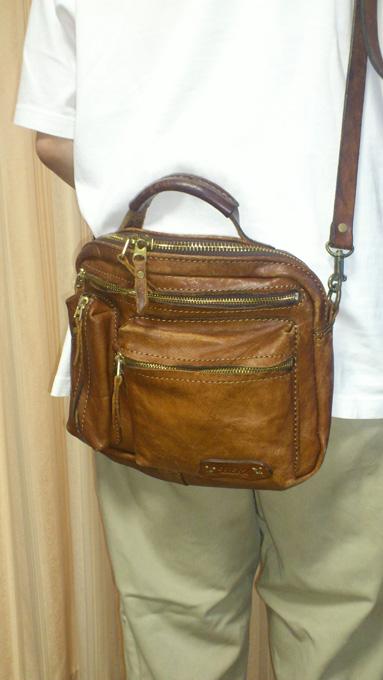 ハンドメイドのHERZ(ヘルツ)で購入したショルダーバッグ