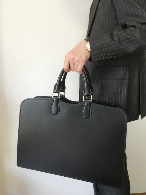 土屋鞄製造所2016年春の限定商品、「MAGNUS」ファスナートップブリーフ