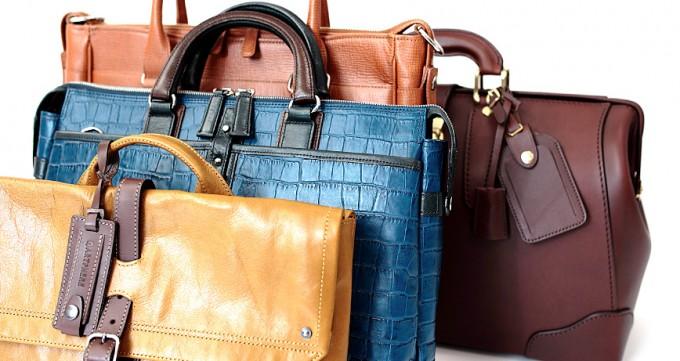 それぞれ個性を発揮して、独自の豊岡鞄を製造している