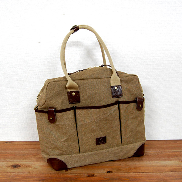P.W. CANVAS ZIPPER TOTE