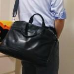 COACH(コーチ)製の大きいレザーバッグ