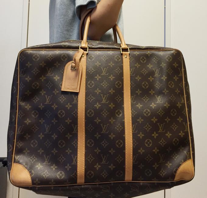 ルイヴィトン旅行鞄の使用感