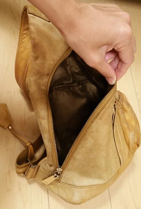 バッグの主役の口部分