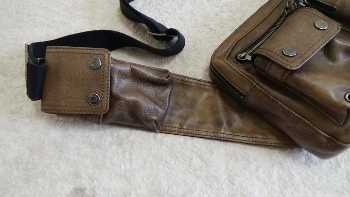 2箇所のポケット