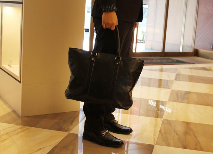 ココマイスターのバッグ