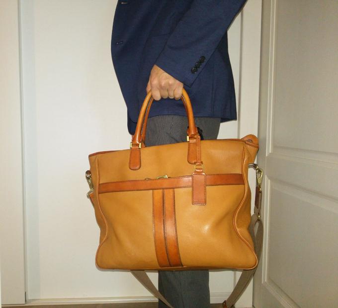 エルゴポックのトートバッグを2年使った感想が良いところしか浮かばない!