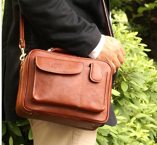 青木鞄 NEVADA フロントポケット2WAYショルダーバッグ