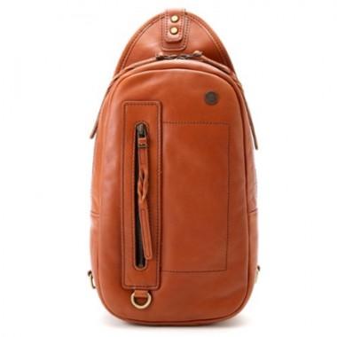 青木鞄 la Galleria 本革ボディバッグ