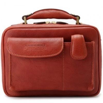 青木鞄 Lugard レザーショルダーメンズバッグ NEVADA
