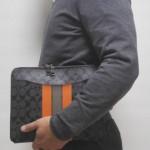 COACH()のクラッチバッグを格安で購入、1ヶ月使ったレビュー