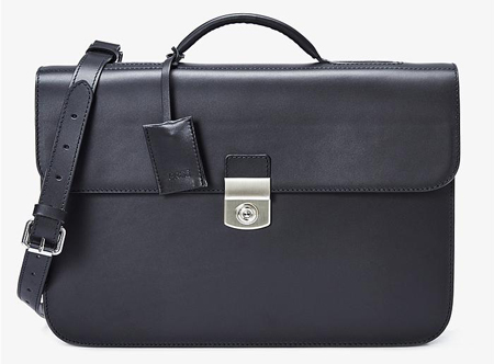 Oxford 8, black, briefcase S