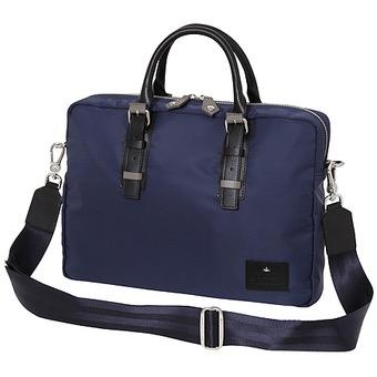 Vivienne Westwood(ヴィヴィアンウエストウッド)コントラストベルト メンズビジネスバッグ