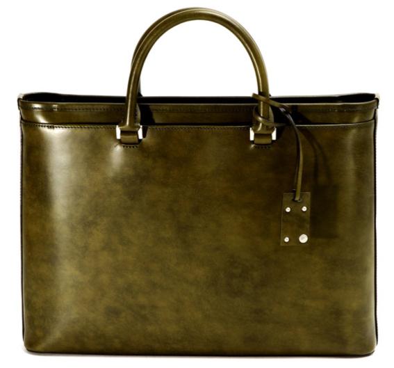 薄マチブリーフケース Waxed Leather(06 Series)06-BF-Z