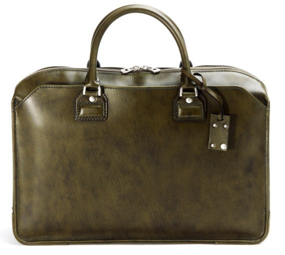 HERGOPOCH(エルゴポック)Waxed Leather(06 Series) 3方ファスナーブリーフ 06-BF-S