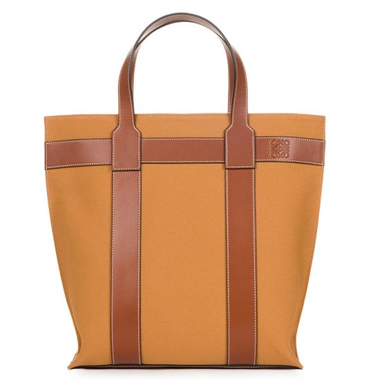 Vertical Tote Bag タン