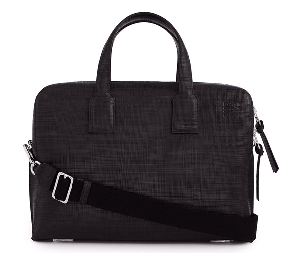 Goya Thin Briefcase ブラック