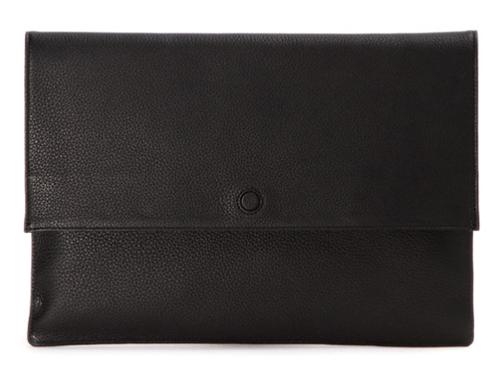 HERGOPOCH エルゴポック エンベロープクラッチバッグ プライムグレインレザー PrimeGrain Leather Clutch Bag HERGOPOCH 11-ENV