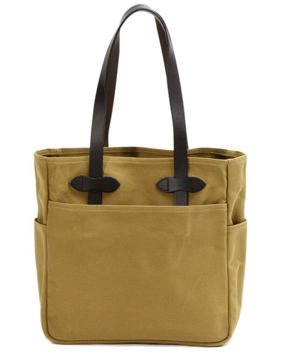 Rugged Twill TOTE BAG WITHOUT ZIPPER FILSON 11070260