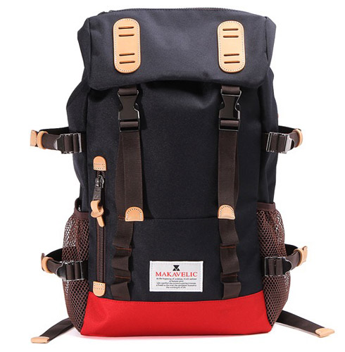 TRUCKS DOUBLE BELT DAYPACK ZONE MIX MAKAVELIC 3106-10118