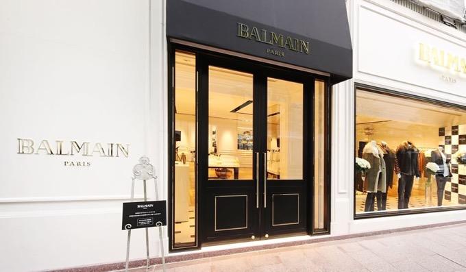 バルマンの実店舗