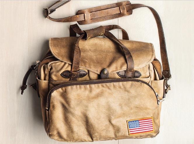 フィルソンのバッグ