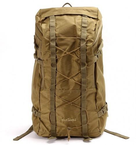 X-PAC Nylon Backpack 25L by WILD THINGS hobo HB-BG2555