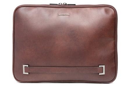 DOCUMENT CASE IN LEATHER