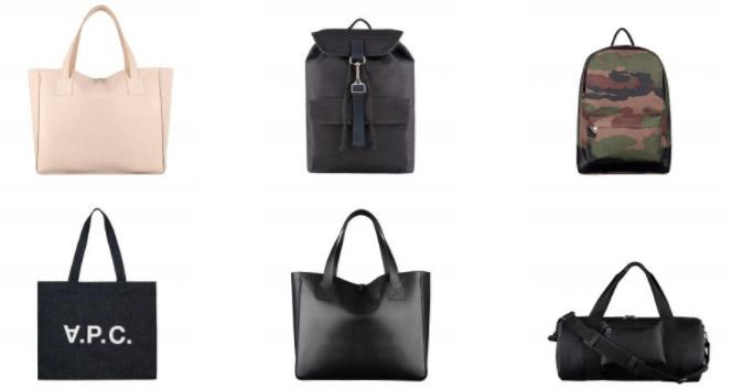 バッグに関しても、オーソドックスな雰囲気