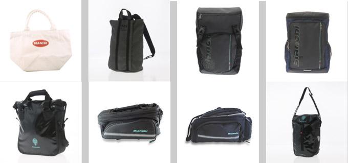 バッグの特徴は、スポーティーかつカジュアル