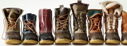 エルエルビーンの名を世界に轟かせた商品と言えば、それは防水ブーツ